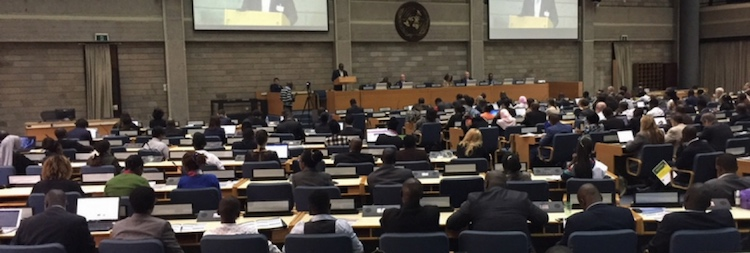 Photo: Opening session of the 10th Africa Carbon Forum in Nairobi. Credit: UNFCCC.