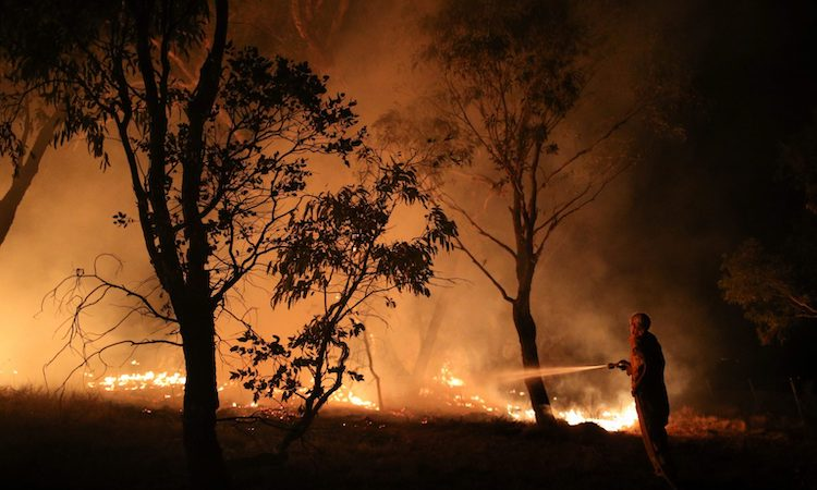 Photo: Australian bushfires: Source: East Asia Forum.