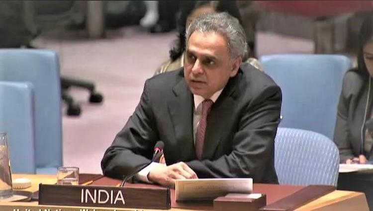 Photo: Ambassador Syed Akbaruddin, India's Permanent Representative to the UN. Source: International House, New York