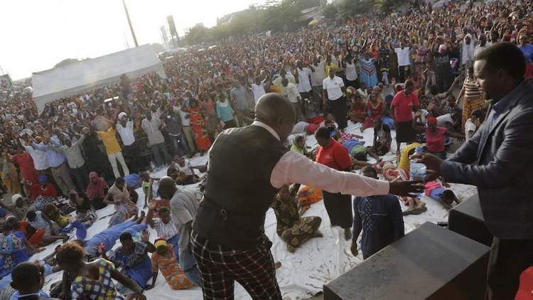 Photo: Scores killed in a stampede at a church crusade in Tanzania. Source: africanquarters.com