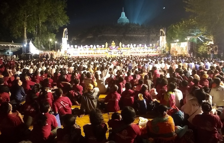 Photos: A glimpse of the Borobodur festival. Credit: Kalinga Seneviratne IDN | INPS