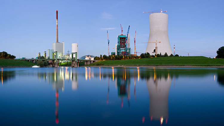Photo: Coal Power Plant. Credit: IAEA