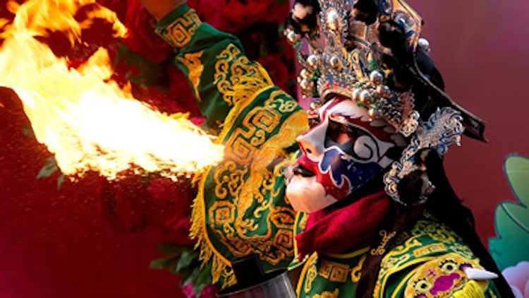 Photo: Fire Eater. Credit: UNCTAD