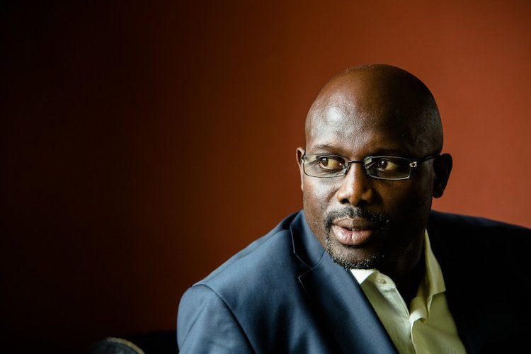 Photo: New President of Liberia, George Weah. Credit: Daily Post, Nigeria