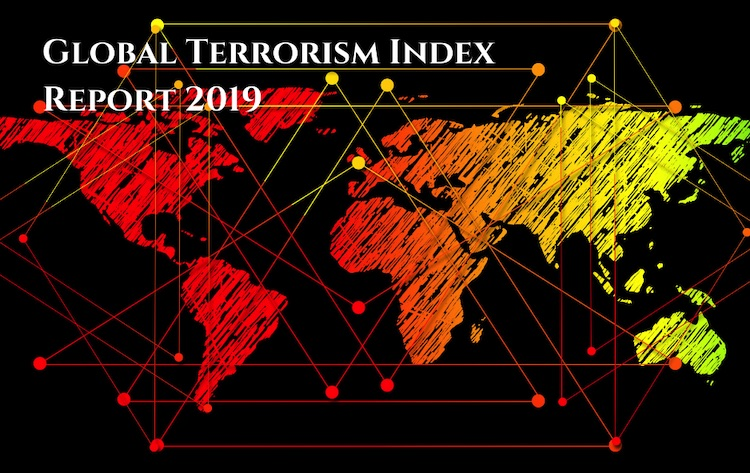 Photo: Numbers of deaths have halved in the last four years, according to the respected Global Terrorism Index. published by the Institute for Economics and Peace. The numbers killed were 33,555 in 2014 but in 2018 were 15,952. Credit: Global Terrorism Index 2019.