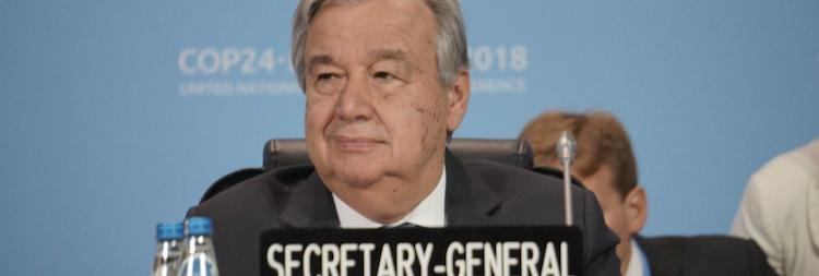 Photo: UN Chief Opening COP24. Credit: UNFCCC.