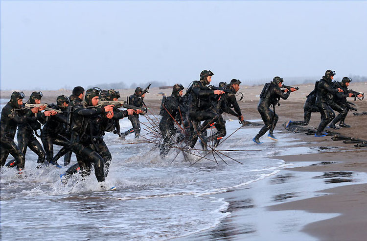Photo: IRGC's Naval special forces, S.N.S.F. Source: Wikimedia Commons.
