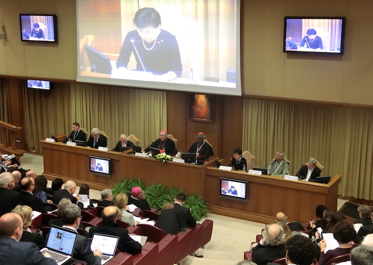 Photo: Izumi Nakamitsu addressing nuclear disarmament conference in Vatican City on November 10, 2017. Credit: Katsuhiro Asagiri | IDN-INPS.