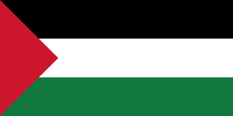 Image: Palestine flag. Credit: Wikimedia Commons.