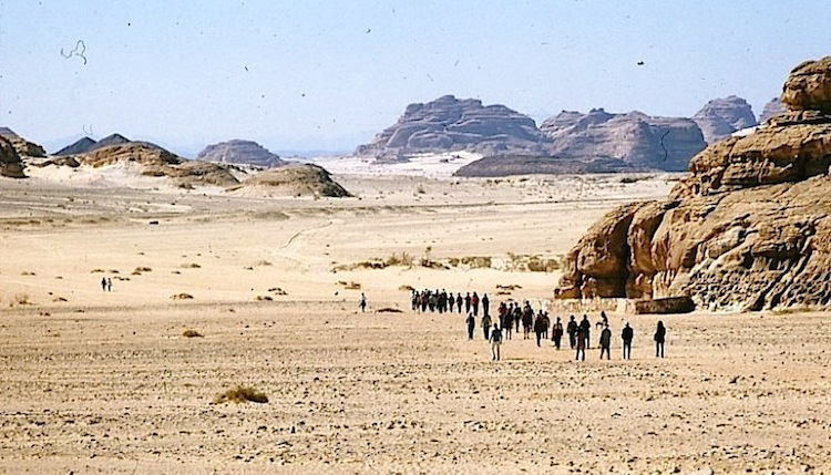 Photo: Eritreans fleeing the country first have to risk their lives crossing the border, whose guards are authorised to shoot on sight. Those who try to reach Israel must cross the Sinai Peninsula. Many don't make it. Credit: Gan-Shmuel archive