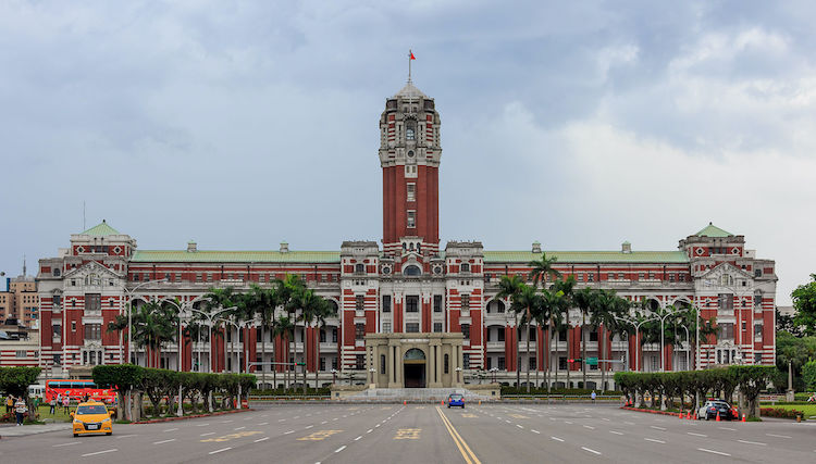 Photo: Presidential Office Building in Taipei. CC BY-SA 3.0