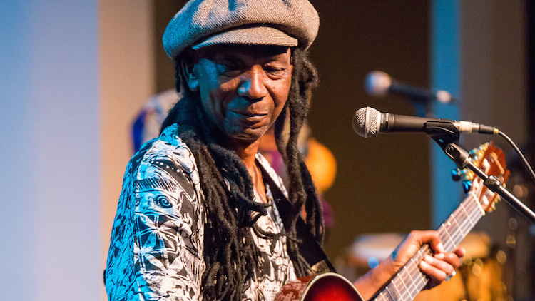 Photo: Zimbabwe's Thomas Mapfumo. Credit: Goldstar.