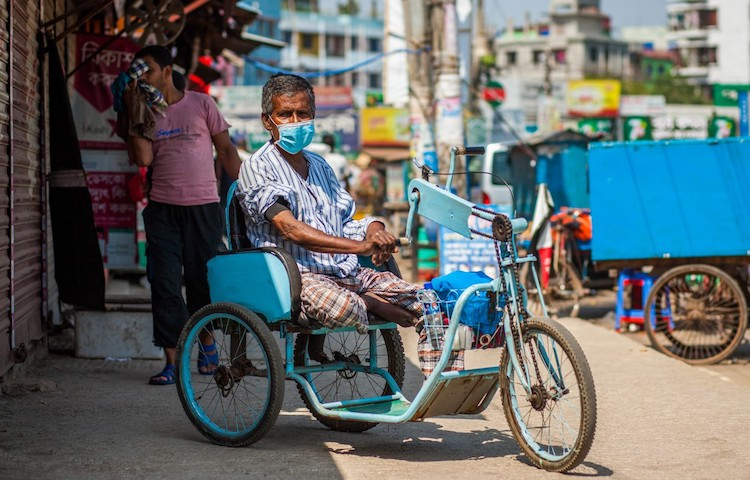 Photo: Many of the huge numbers of people not covered by social insurance programmes are informal workers, low-waged, women and young people, refugees and migrants, and people with disabilities – and they are the ones hardest hit by this crisis. Photo: UNDP Bangladesh/Fahad Kaizer