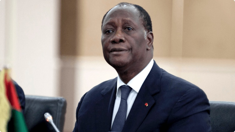 Photo: Ivory Coast President Alassane Ouattara. Credit: Togo Tribune.