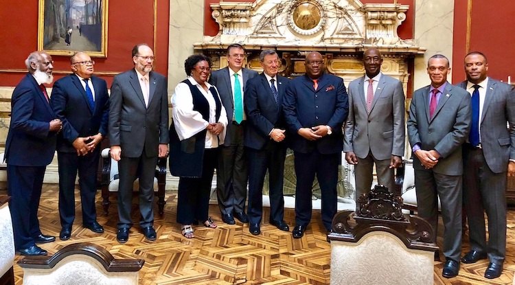 Photo: Signatories oft he Montevideo Mechanism. Credit: CARICOM.