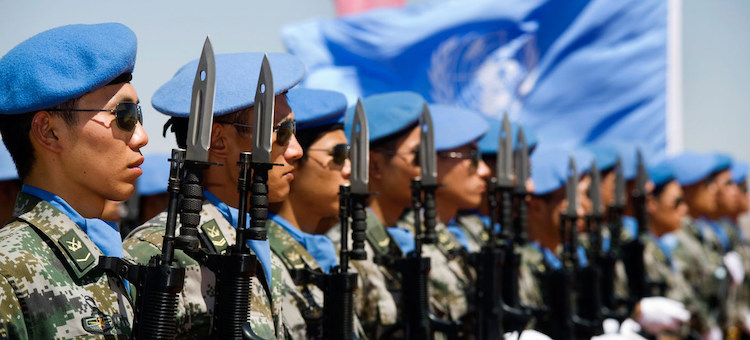 Photo: Chinese UNAMID peacekeepers (file photo) Credit: UNAMID/Albert Gonzalez Farran
