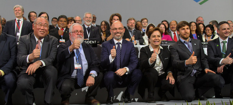 Photo: COP24 closing plenary meeting in Katowice, Poland.