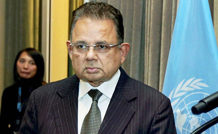 Photo: UN General Assembly and the Security Council re-elected Justice Dalveer Bhandari to the World Court on November 20, 2017.