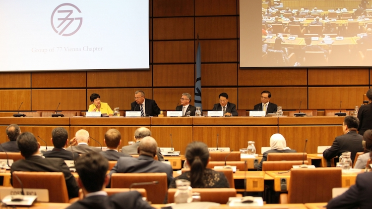 Photo: Vienna Chapter of the Group of 77 celebrates 20th anniversary. Credit: UNIDO.