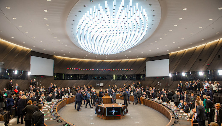 Photo: A general view of the NATO meeting on December 4, 2018. Credit: NATO.