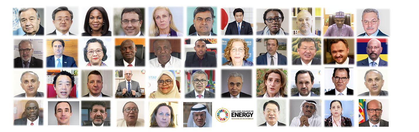 Photo: High-level Dialogue on Energy 2021. Source: United Nations.