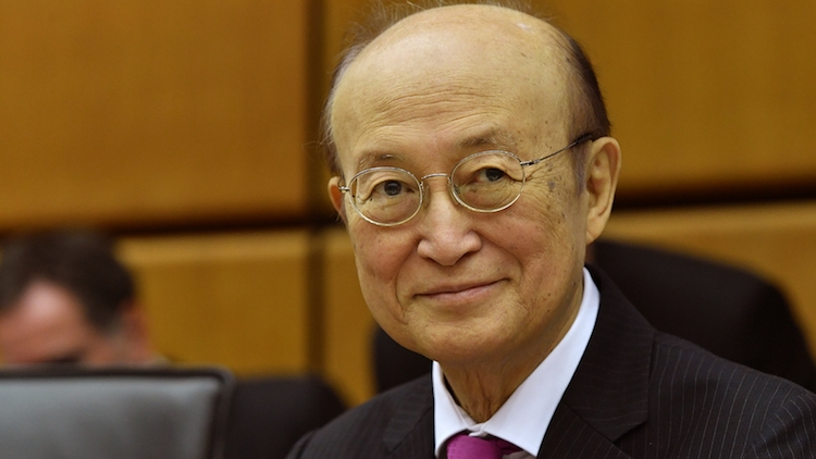 Photo: IAEA Director General Yukiya Amano. Credit: D. Calma/IAEA
