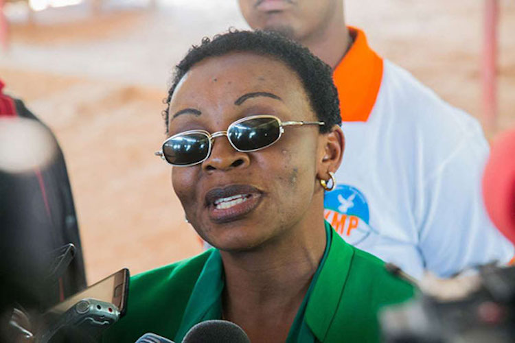 Photo: Victoire Umuhoza Ingabire. Credit: The Charleston Chronicle.