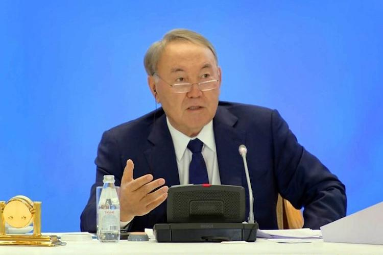 Photo: Kazakh President Nazarbayev urges religious leaders to appeal to world community to support peace and security. Credit: KazInform