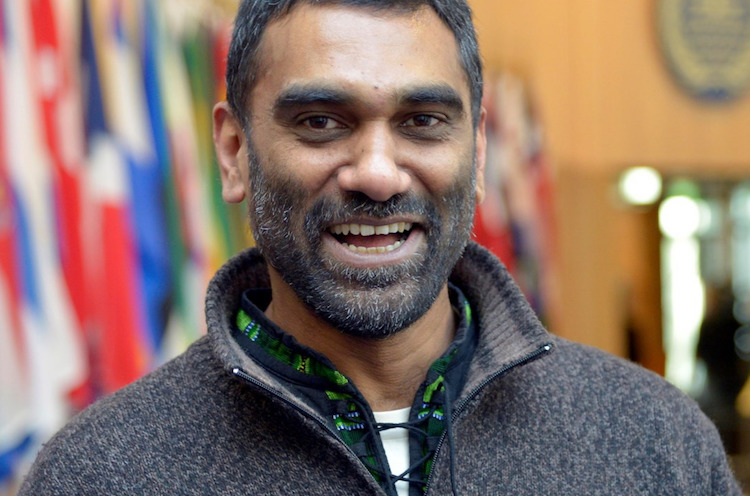 Photo: Kumi Naidoo. Credit: Amnesty International