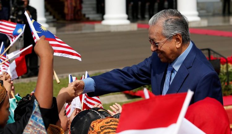 Photo: Prime Minister Mahathir Mohamad, Source: East Asia Forum.