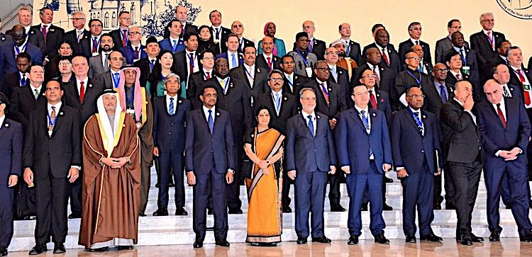 Photo: Participants of the NAM Ministerial Meeting in Baku, Azebaijan. Credit: MEA India.