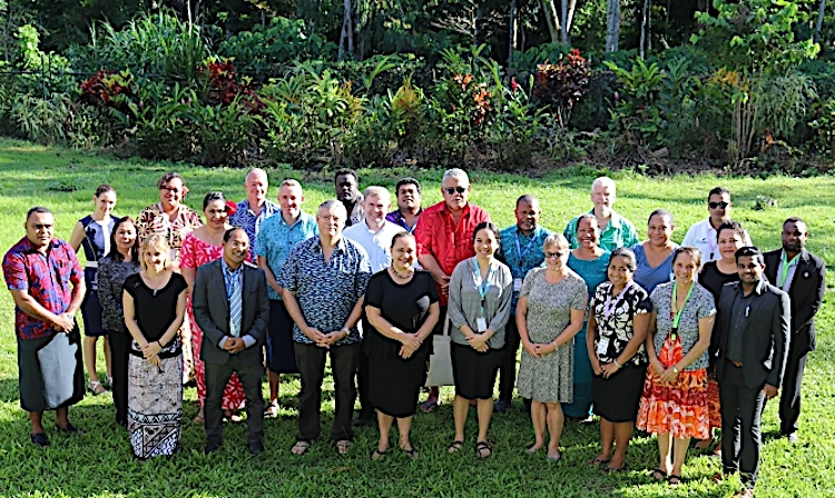 Photo: Participants in the April 1-3 meeting in Apia. Credit: SPREP