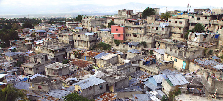Photo: An informal settlement in Port-Au-Prince, Haiti. Credit: UN-Habitat/Julius Mwelu.