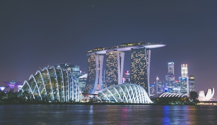 Photo: Singapore. Credit: Sven Scheuermeier on Unsplash