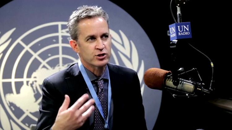 Photo: David Kaye, UN Special Rapporteur on the right to freedom of opinion and expression. Credit: UN