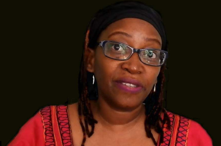 Photo: Joan Nyanyuki, feminist critic of President Musevini. Credit: Amnesty International