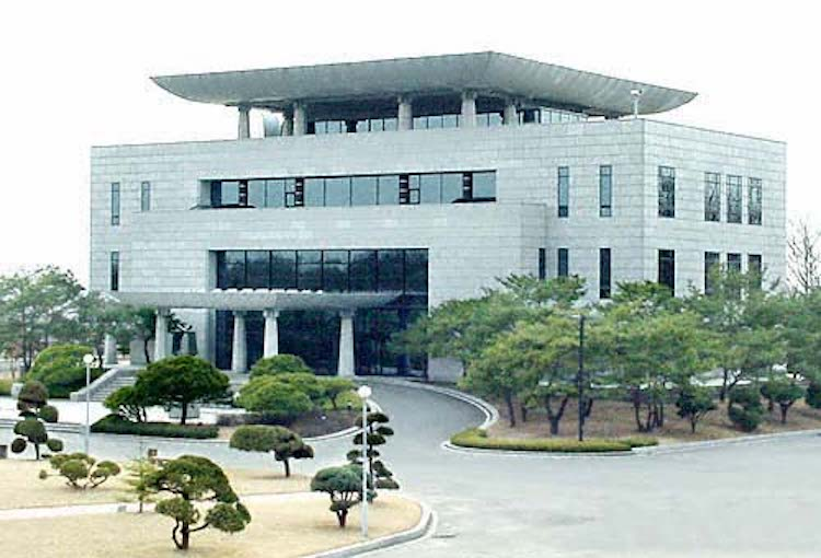 Photo: The House of Peace on the 38th parallel, likely to be the venue of the Trump-Kim summit by May 2018. Source: lifeinkorea.com