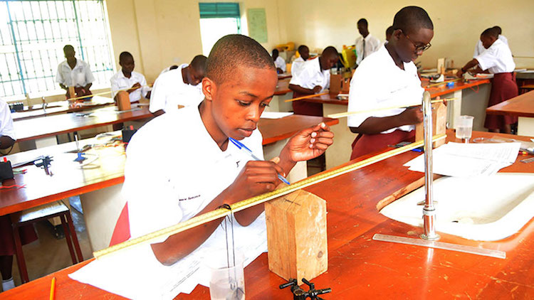 Photo: Less child marriage, fewer teen pregnancies, and more years spent in school would boost Uganda's overall earnings. Credit: World Bank/Rachel Mabala.