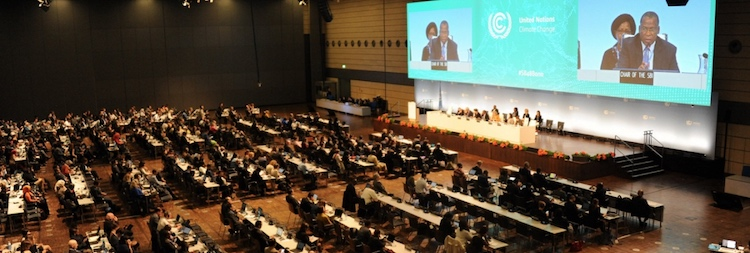 Photo: UN Climate Talks in Bonn from April 30-May 10. Credit: UNFCCC