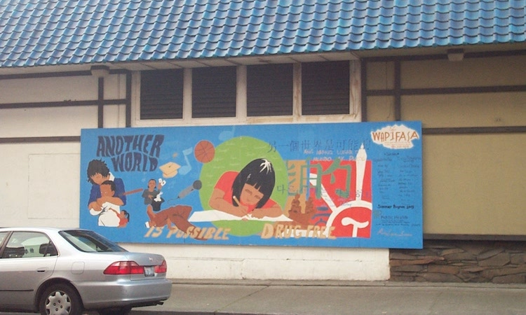 Photo: This mural in Seattle's Chinatown echoes the slogan of the World Social Forum: 'Another world is possible'. CC BY-SA 3.0