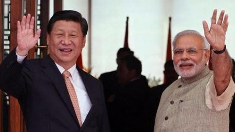 Photo: Chinese President Xi Jinping with Prime Minister Narendra Modi. Credit: PTI