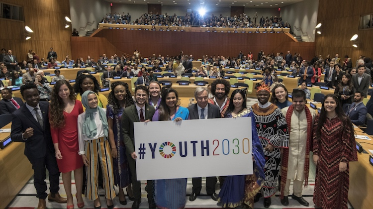 Photo: High-level Event on Youth2030: Launch of the UN Youth Strategy and Generation Unlimited Partnership (UN Photo)